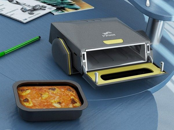Hotlogic Mini Personal Portable Oven Black