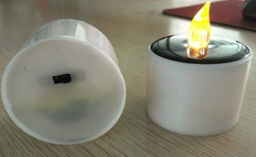 real play illusion candle